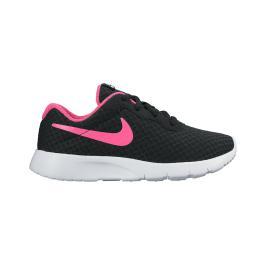 حذاء للبنات باللون الاسود مضاف معه اللون الفوشي(الزهري) ماركة نايك