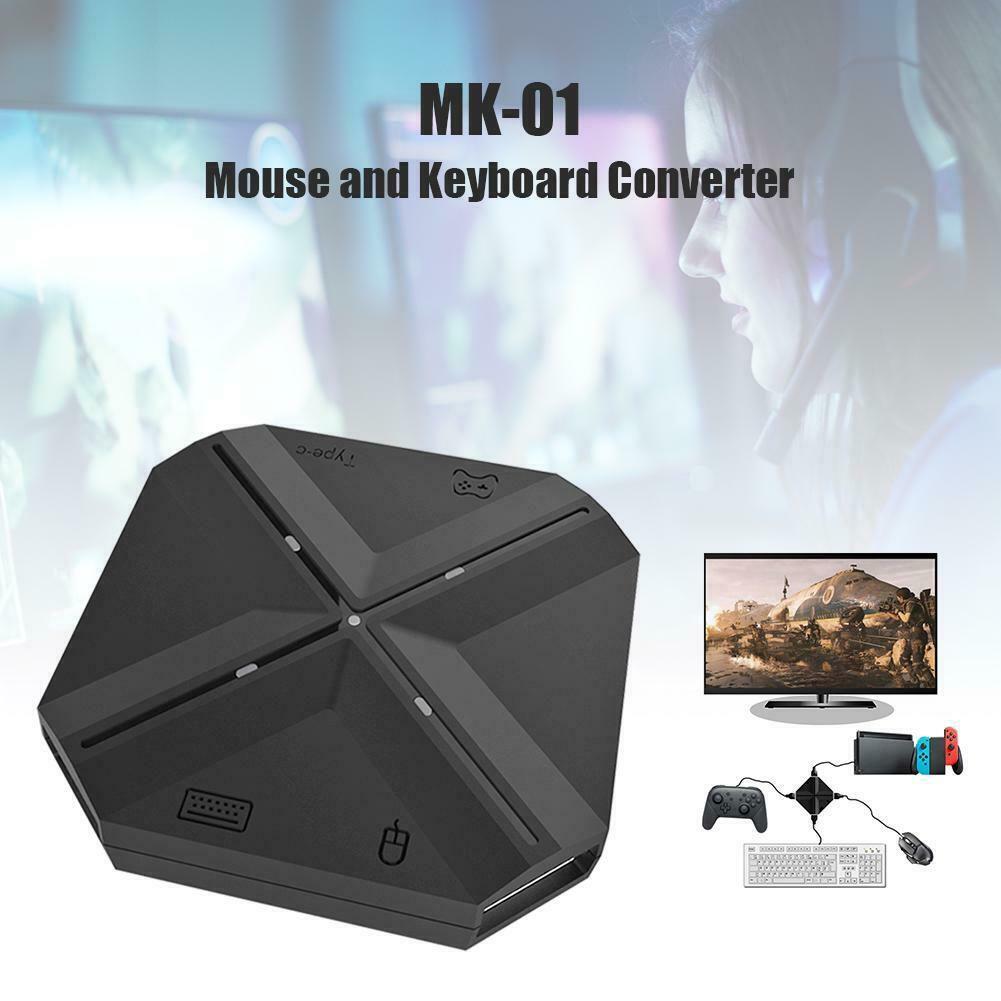 لوحة مفاتيح محول الماوس لوحة تحكمMK-01  PS3 / 4 Xbox One