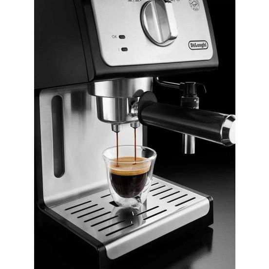 ماكينة قهوة اسبريسو وكابتشينو من ديلونجي ECP 35.31 صنع في تركيا